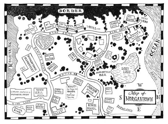 Adam Stower Map