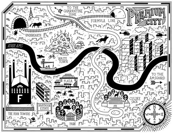 Tom Flintham Dark Wild Map