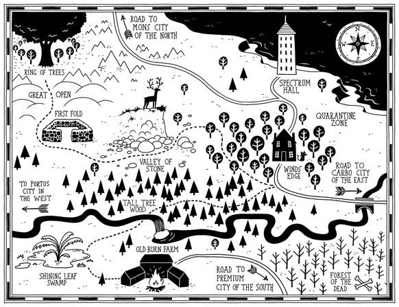 Tom Flintham Last Wild Map