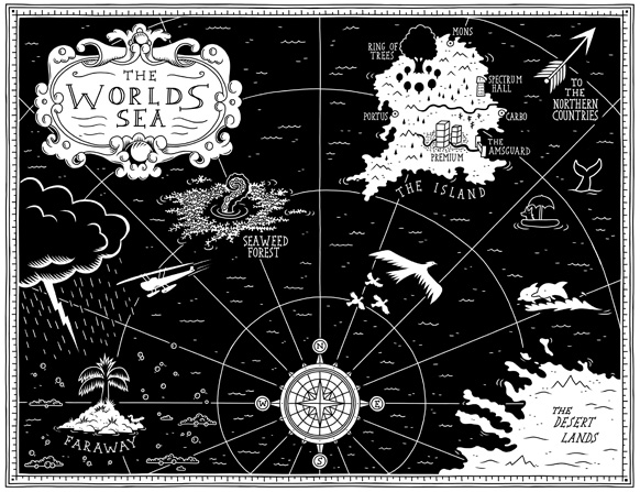Tom Flintham The Wild Beyond Map