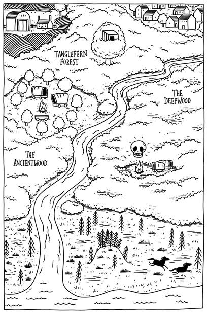 Tom Flintham Dreamsnatcher Map