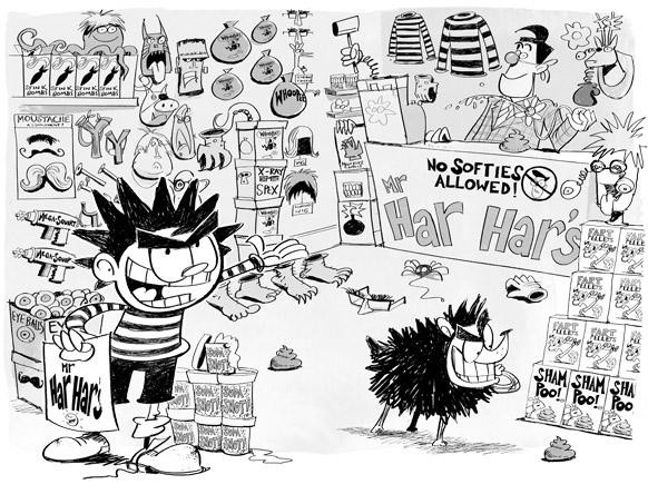 Dennis the Menace- The Great Escape by Steve May