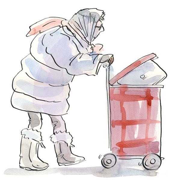 Sue Hellard- Trolley Lady