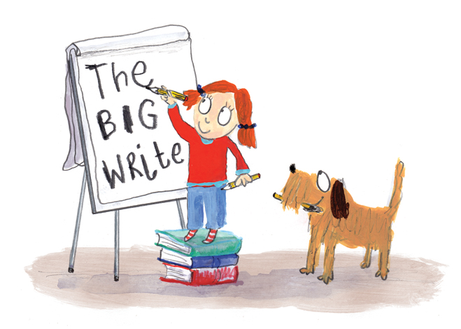 Neal Layton- The Big Write 2016