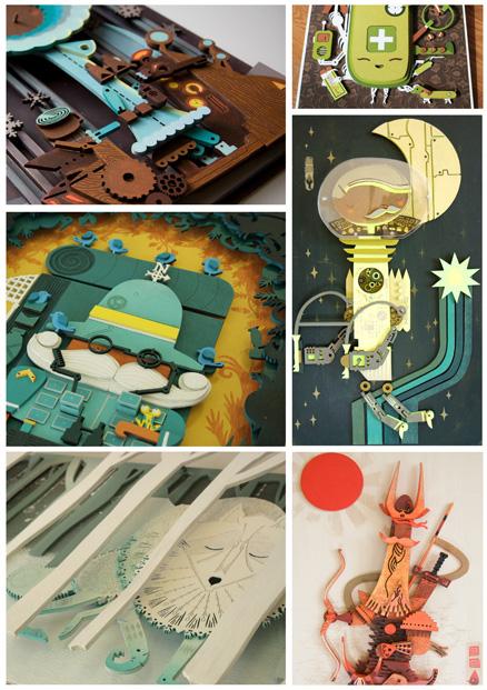 Graham Carter- Woodcuts