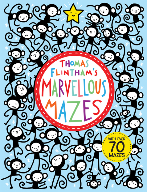 Thomas Flintham- Marvellous Mazes Cover