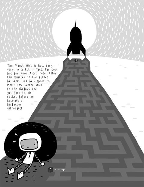 Tom Flintham- Astro Pete, Marvellous Mazes