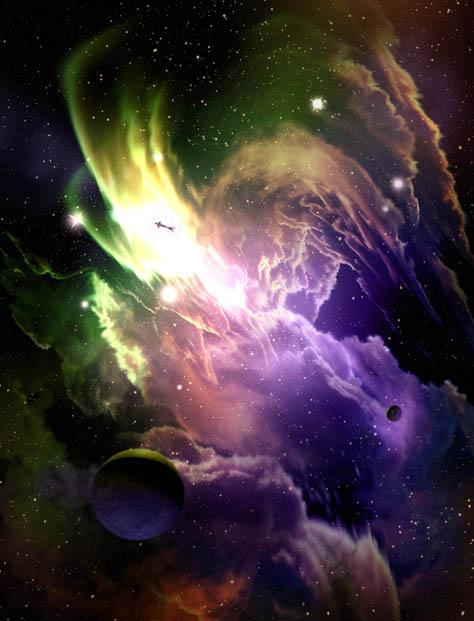 Fred Gambino- Spartica Nebula, Dark Shepherd