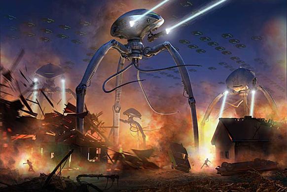 Fred Gambino- Alienology- War