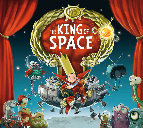 Jonny Duddle King Of Space Cover