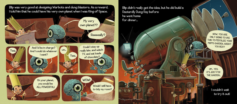 Jonny Duddle- King of Space