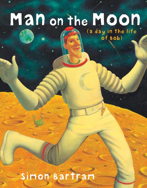 Simon Bartram- Bob Man on the Moon Cover