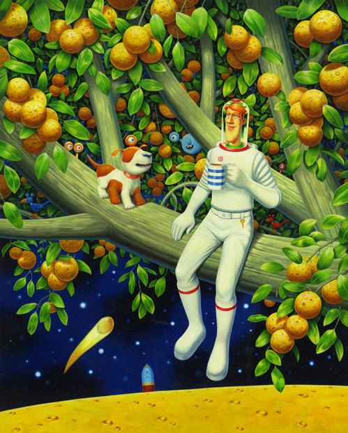 Simon Bartram- Bob ad The Moontree Mystery Cover