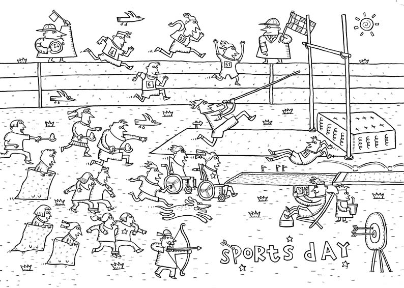 Spike Gerrell- Sports Day