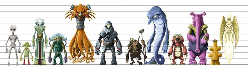 Jonny Duddle- Alienology, Line Up