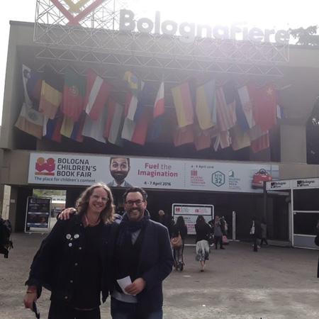 Arena- Bologna Book Fair, Neal and Adam