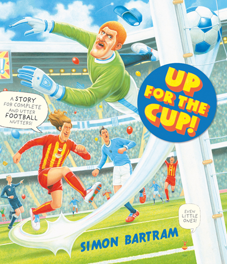 Up Fpr The Cup- Simon Bartram- Cover