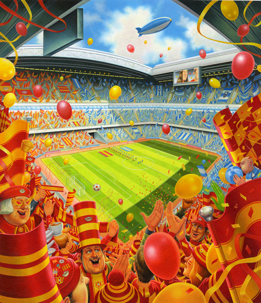 Up For The Cup- Simon Bartram, Stadium