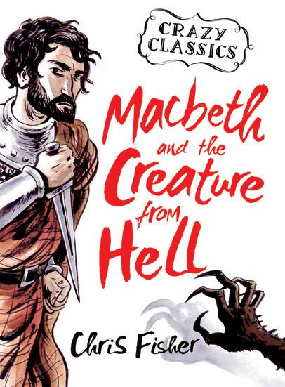 Euan Cook, Shakespere, Clazy Classics, Macbeth Cover