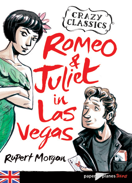 Euan Cook, Shakespere, Clazy Classics, Romeo and Juliet Cover