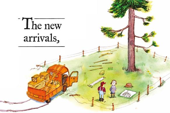 Neal Layton- Tne Tree, The New Arrivals