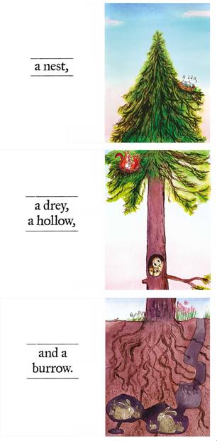 Neal Layton- The Tree, Animal Habitats