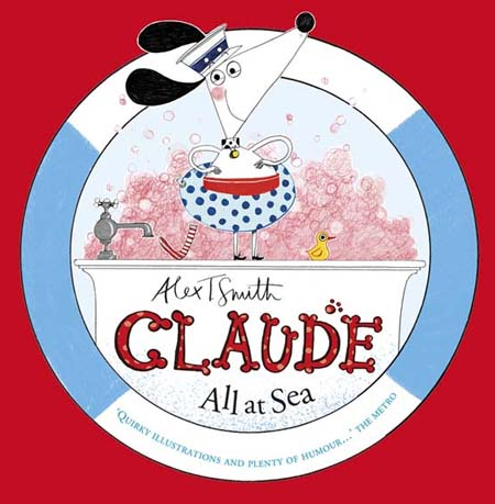 Alex T Smith- Claude All At Sea Cover