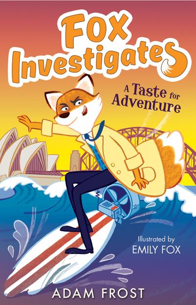 Emily Fox, Fox Investigates, A Taste for Adventure Cover