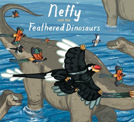 Joe Lillington- Neffy and the Feathered Dinosaurs Cover