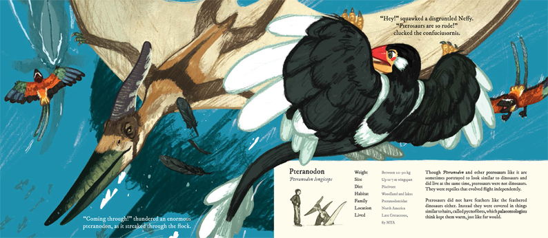 Joe Lillington- Neffy and the Feathered Dinosaurs