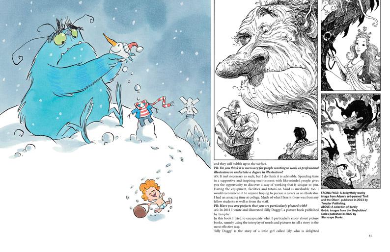 Adam Stower- Illustrator's Magazine