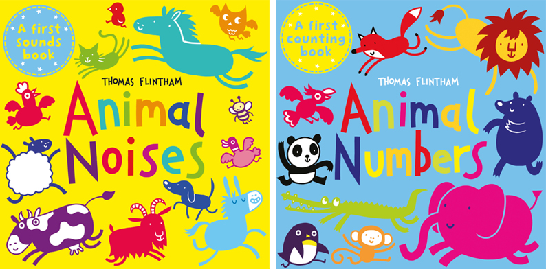 Thomas Flintham- Animal Board Books, Older