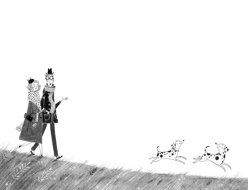 Alex T Smith- World Illustration Awards 101 Dalmatians