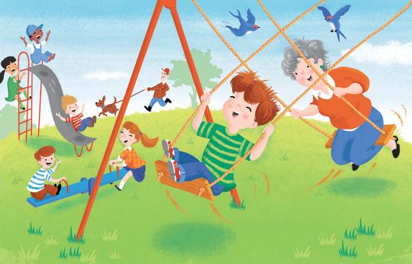 David Hitch- I Love You Grandma, Swings