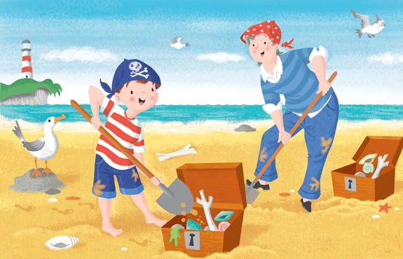 David Hitch- I Love You Grandma, Beach