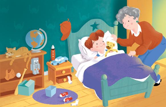 David Hitch- I Love You Grandma, Bedtime