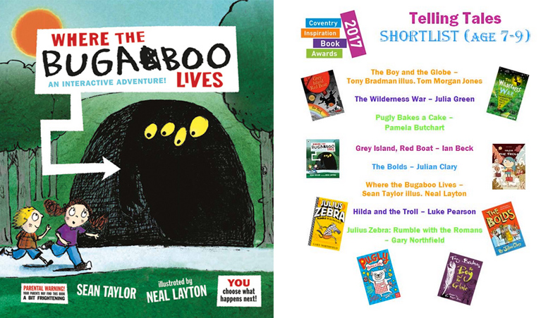 Neal Layton- Bugaboo, Coventry Book Awards