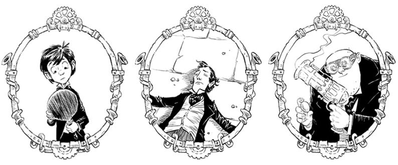Adam Sotwer Odd Aquaticum Characters