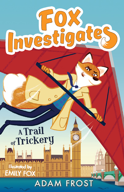 Emily Fox A Trail of Trickery Cover