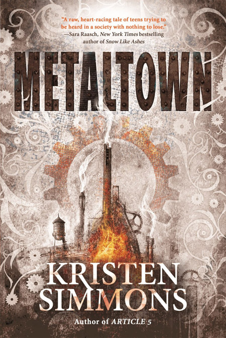 METALTOWN, Cover Illustration by Christopher Gibbs