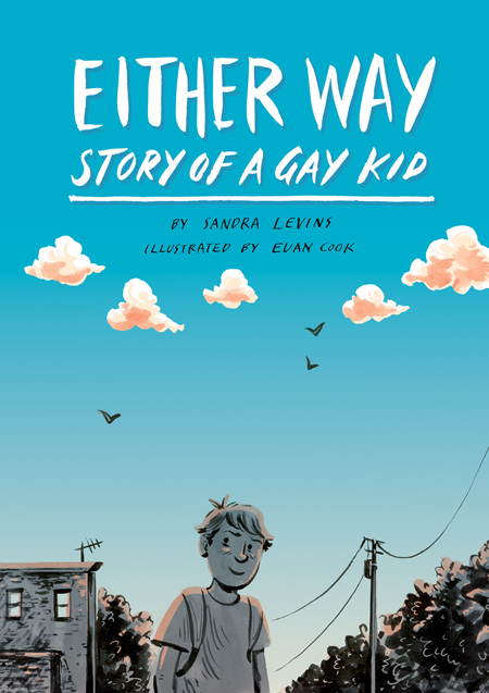 Either Way cover illustration and lettering by Euan Cook
