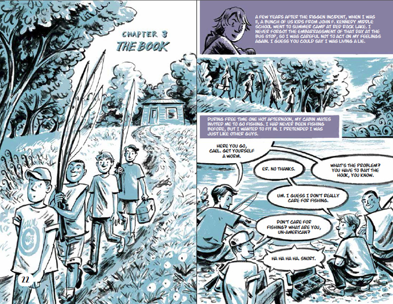The Book from Either Way, Illustrated by Euan Cook