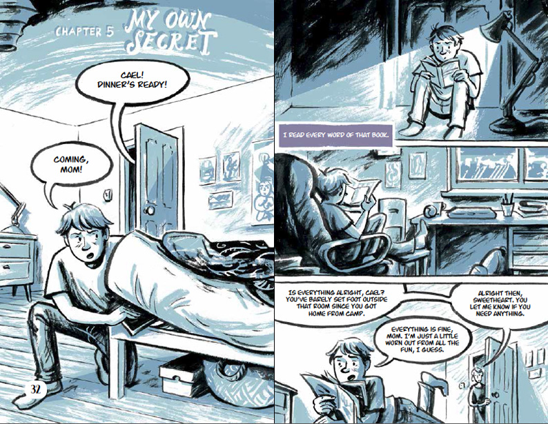 My Own Secret from Either Way, Illustrated by Euan Cook