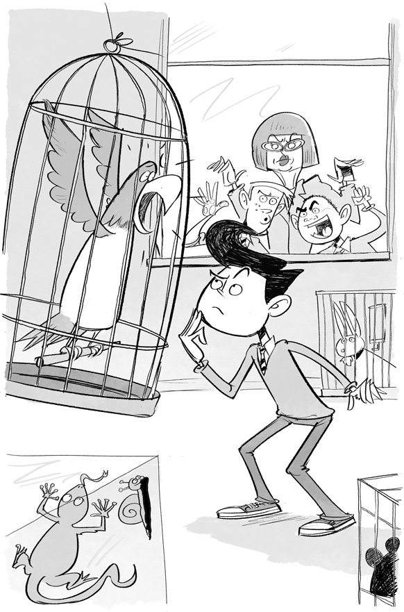 Aidan Abet, Teacher's Pet - illustrated by Steve May