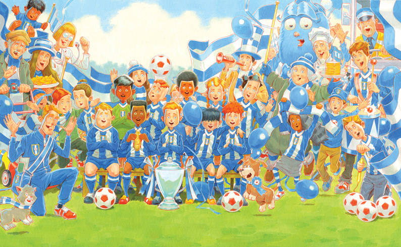 We Won The Cup written and illustrated by Simon Bartram