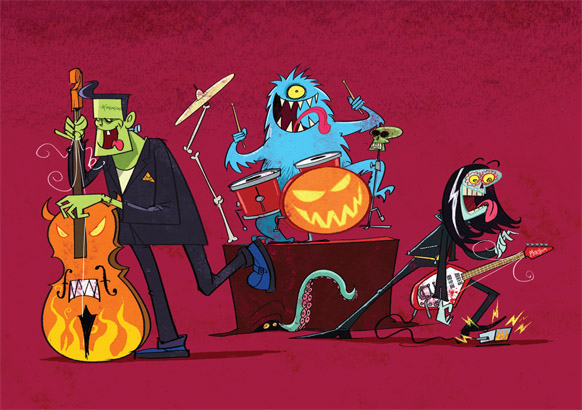 Happy Halloween - illustrated by Steve May