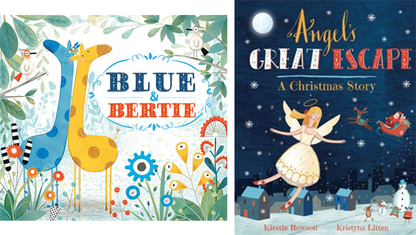 Blue and Bertie picture book by Kristyna Litten