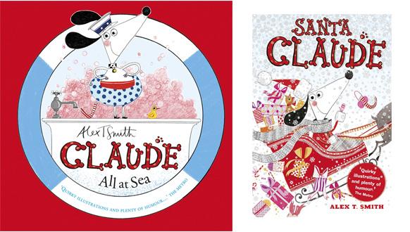 Alex T Smith All At Sea Santa Claude