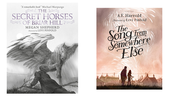 Levi Pinfold Secret Horses of Briar Hill Megan Shepherd and Song From Somewhere Else A F Harrold