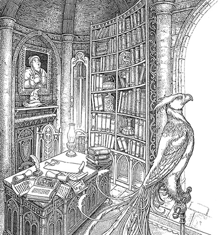 Tomislav Tomic_Tales of Beedle dumbledore's study
